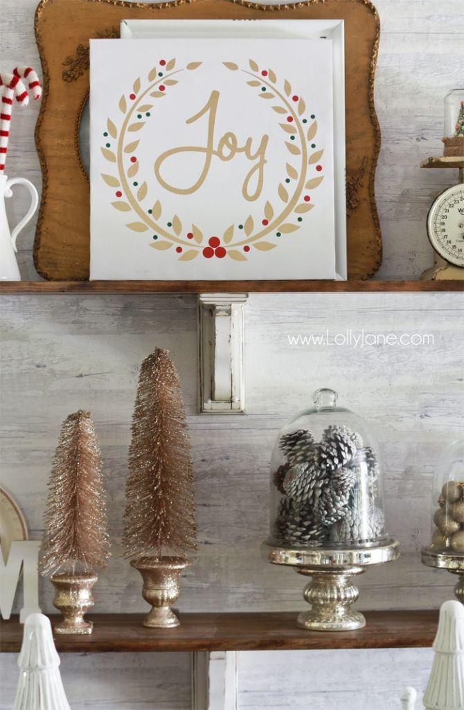 How To Decorate Shelves For Christmas Shelves Christmas