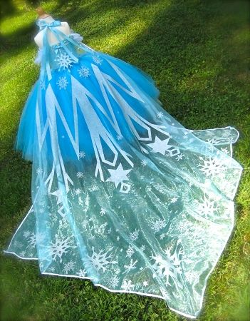 Snow Queen Custom Couture Empire Tutu Dress | TuTu Heaven