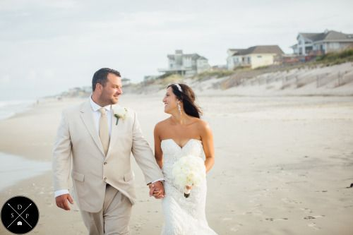 Sarah D'Ambra Photography Outer Banks Wedding Photographer  www.sarahdambra.com   A perfect intimate wedding ceremony in Corolla, North Carolina
