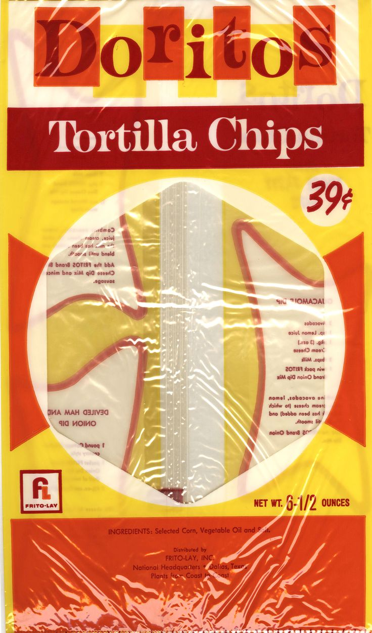 In 1966, DORITOS Toasted Corn tortilla chips was the first tortilla chip brand to be introduced nationwide. #FritoLayFun