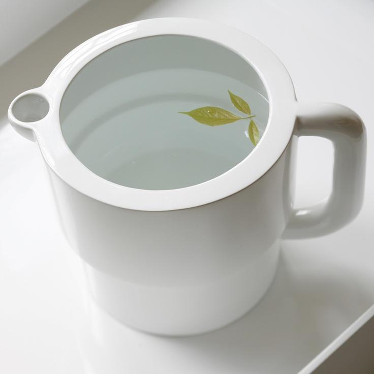 Ceramic Carafe White: Design Products, Multi Funct Caraf, Pitcher Design, Products Designs, Ceramics Water, Simple, Ceramics White, Caraf White, Ceramics Caraf