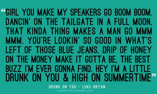 ~Luke Bryan: Boom Boom, Quotes, Country Boys, Favorite Songs, Country Music, Summer Country Songs Lyrics, Luke Bryans, Country Life, Summertime