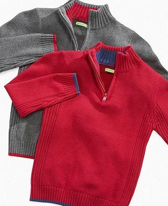 Greendog Kids Sweater, Little Boys 1/4-Zip Sweater - Kids Boys 2-7 - Macy's