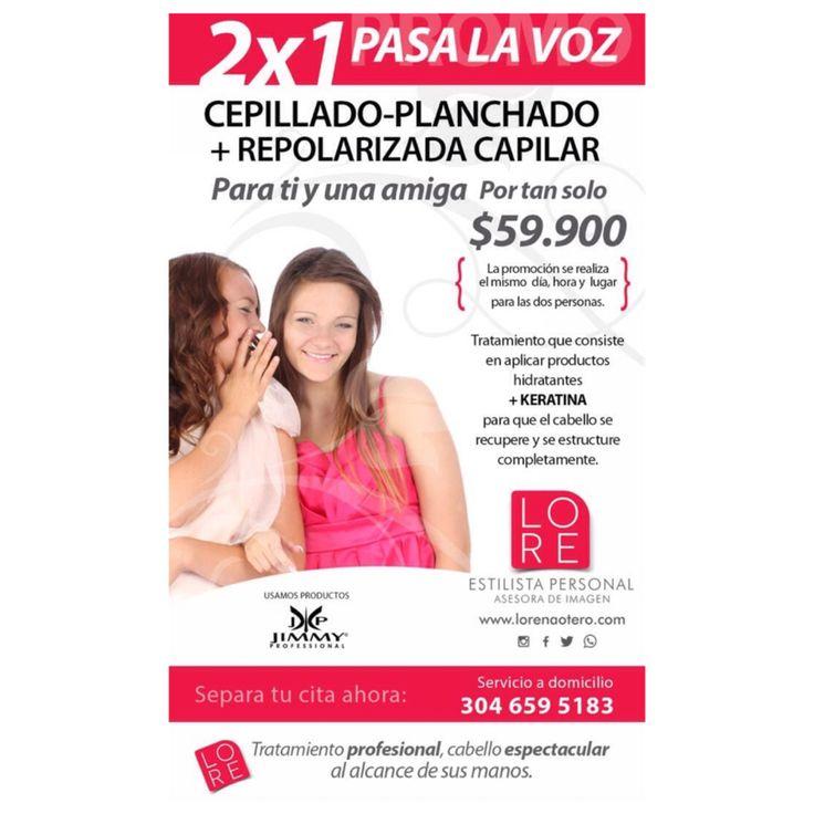 Súper promoción tratamiento de keratina desde $80.000 A Domicilio Cali / Colombia