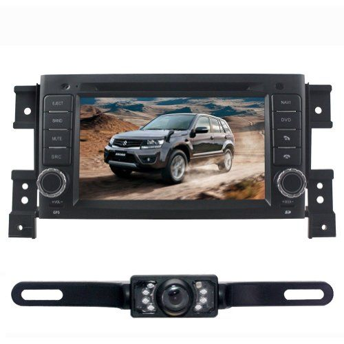 Special Offers - SUSAY For SUZUKI GRAND VITARA (2005 2006 2007 2008 2009 2010 2011 2012) 7 inch Indash Win CE6.0 operation system CAR DVD Player GPS Navigation Navi iPod Rear Camera Bluetooth HD Radio AM FM Tuner PIP Stereo Free Map - In stock & Free Shipping. You can save more money! Check It (January 28 2017 at 07:39AM)…