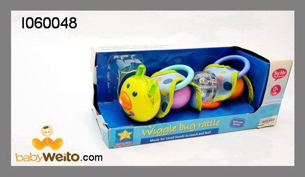 I060048  Mainan wiggle bug rattle  Dilengkapi dengan bunyi yang menarik bagi anak  Warna sesuai gambar  IDR 100*