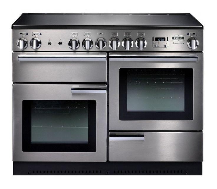 110cm inductie fornuis met ovens en grill €4050,=
