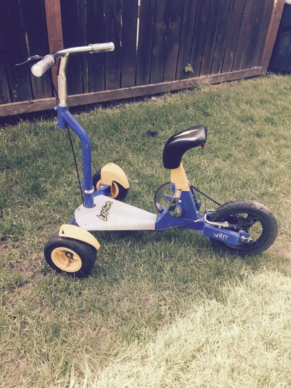 WRFF trike bike for sale! 120$