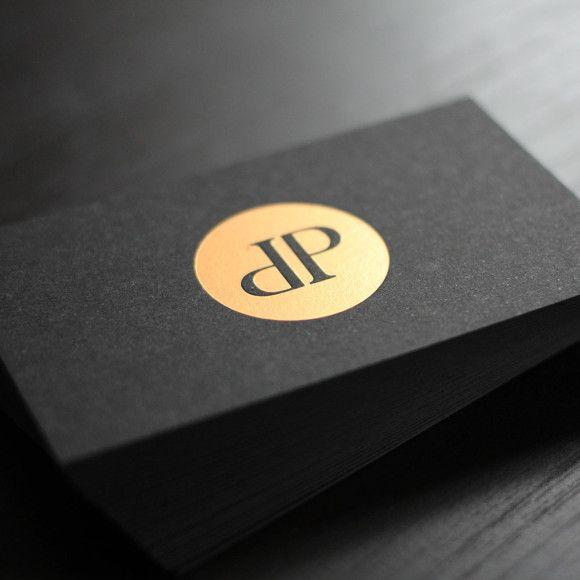 Visitenkarten Mit Schwarzem Karton 500 Stück