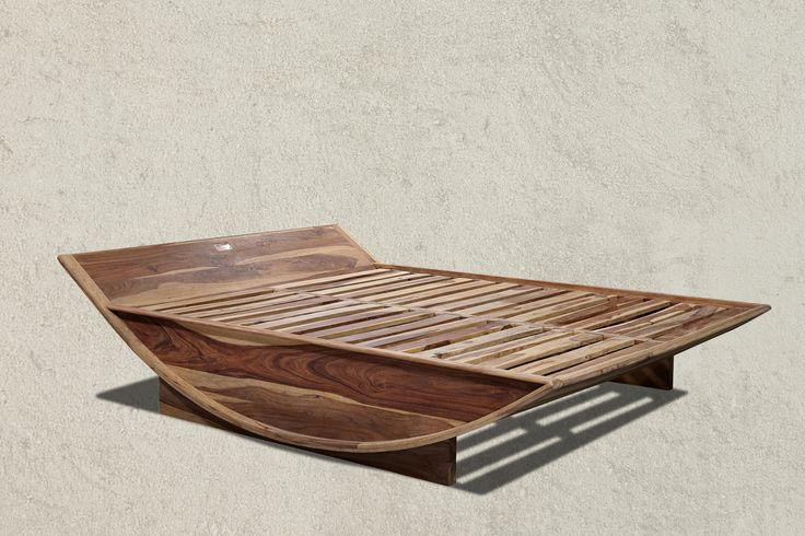 WAVERLY Bahamas Bed from Sheesham solid wood