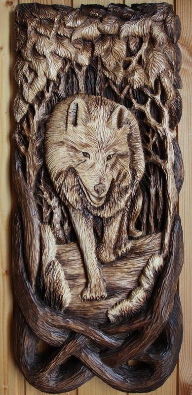 высокого картинки для резьбы по дереву с волками славянских мифических существ