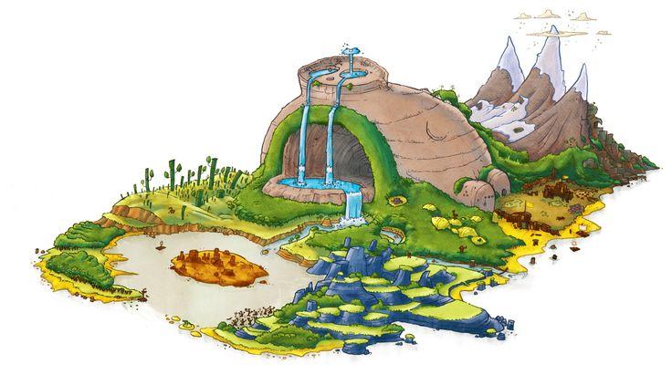 Larsson Portfolio - Angry Birds island - Rovio