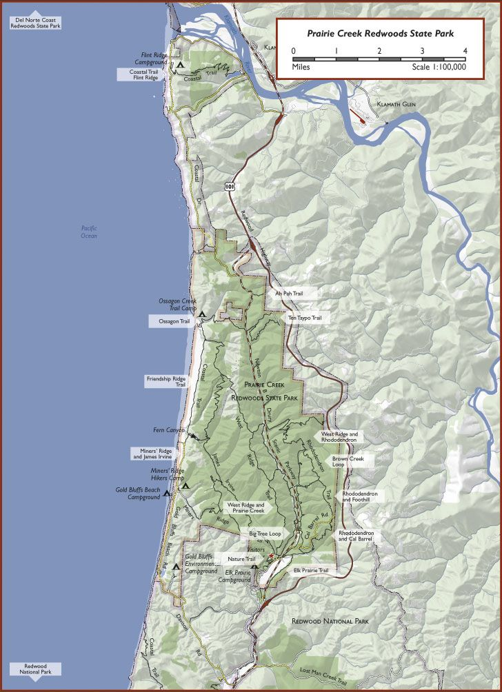 bc road map and parks guide