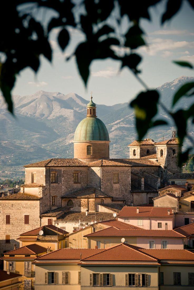 Atina, Italy - where I still have family living. So pretty!
