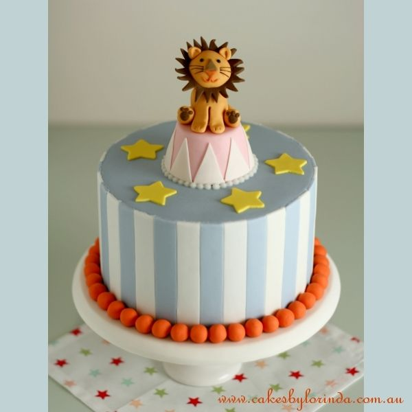 Reference 7402 Circus Lion  A Happy Cheerful Cake Inspired By picture 33052