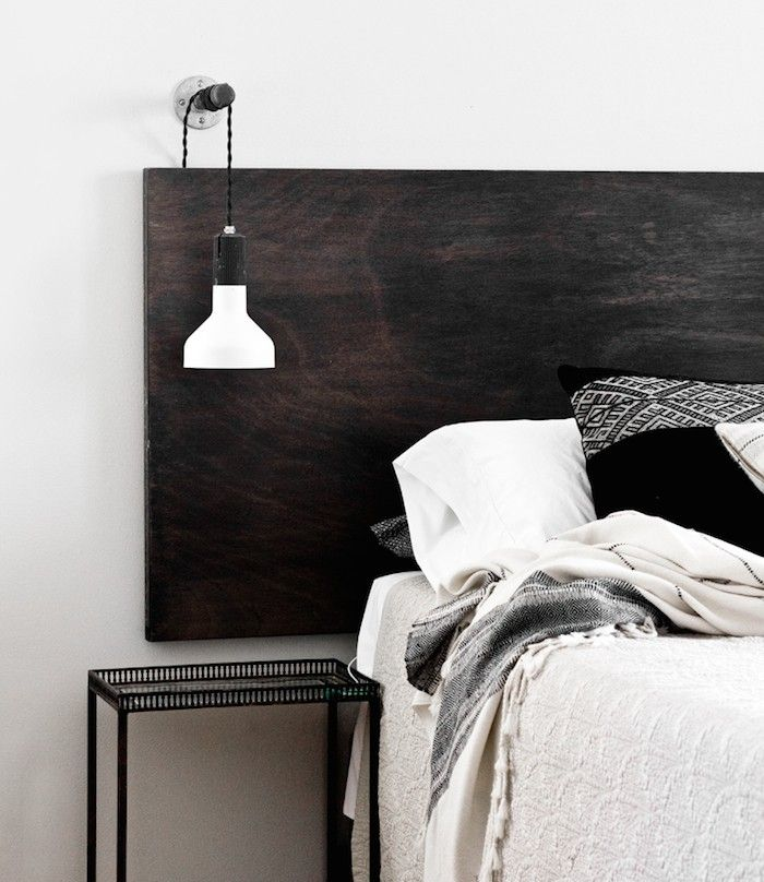 Inspiration Diy Headboards Modern Bedside Lamps And House