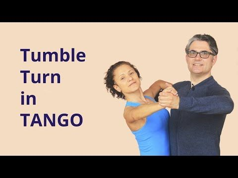 How to Dance Tango - Outside Spin - YouTube
