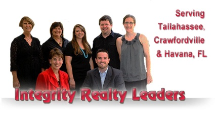 Welcome to Integrity Realty Leaders Tallahassee, Crawfordville and Havana Real Estate Website
