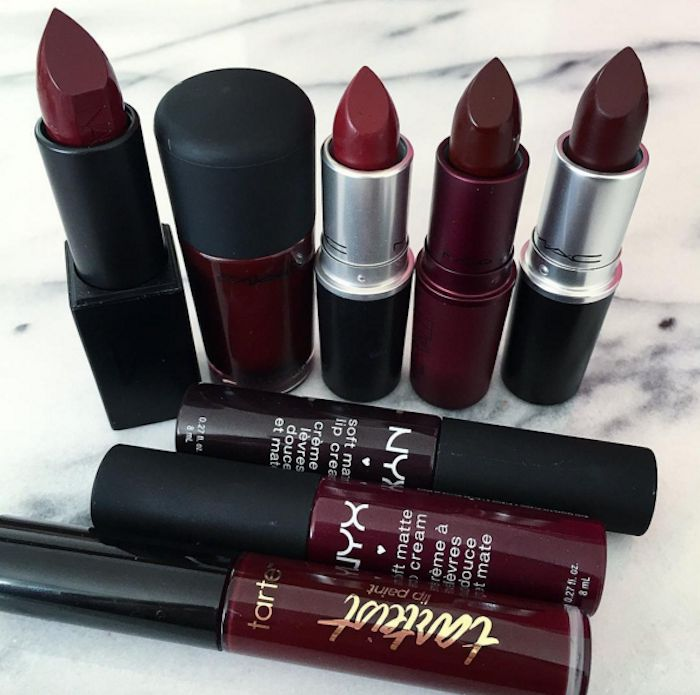 Here is our list of the best burgundy lipsticks that you should be wearing this season!