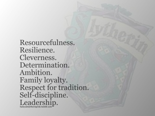 Image result for slytherin traits