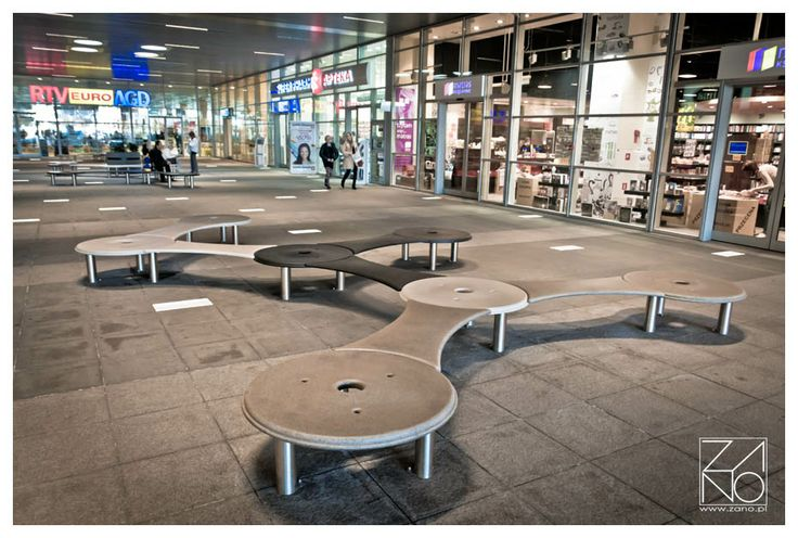 Groove bench - designing for the future