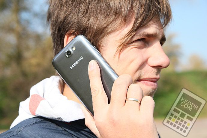 Samsung Galaxy Note 2 и Александр Ляпота - http://keddr.com/2012/10/samsung-galaxy-note-2/