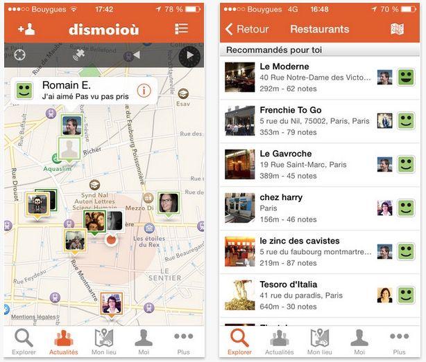 Dossier apps iPhone : 11 applis gratuites pour trouver et choisir le bon restaurant