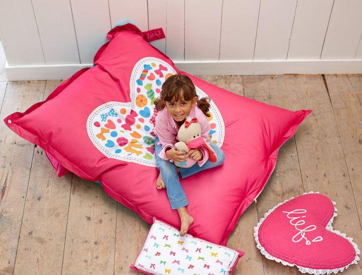 Loungekussen Sofie van lief!: om lekker op te relaxen #kinderkamer #decoratie
