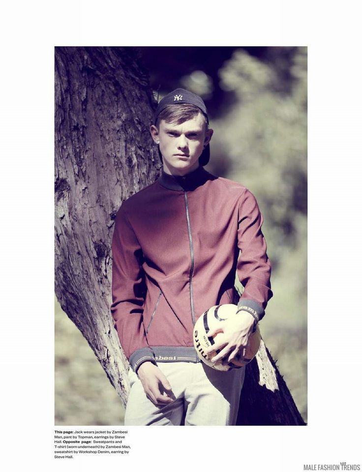 Jack y Alex Roberts para BLACK Magazine No. 5 por Russ Flatt - Male Fashion Trends
