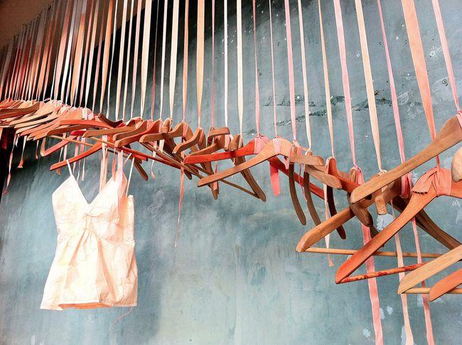 hangers: Shops Windows, Window Displays, Shops Display, Stores Windows, Retail Display, Windows Display, Display Ideas, Clothing Hangers, Shops Front