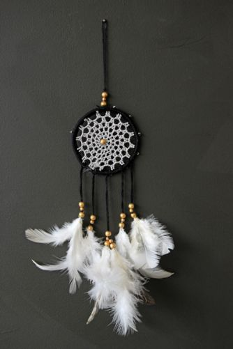 Dream Catcher - Black Silver rsg 7cm £9
