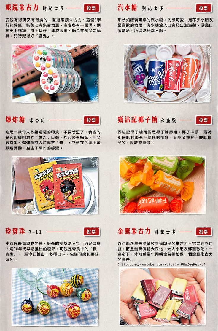 頭條日報 頭條網 - 週末遊樂Guide - 懷舊零食
