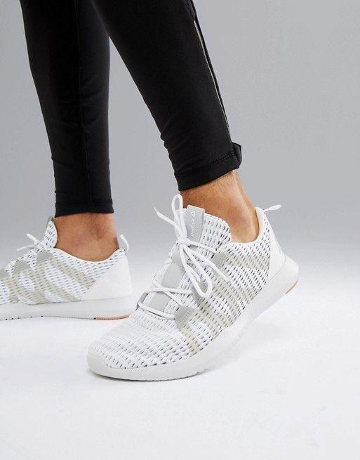4b3f2235606 Reebok Training reago pulse sneakers in white cn7189