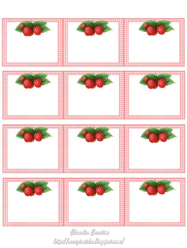 de jolies étiquettes aux motifs fruités... pour vos créations, vos cadeaux gourmands, votre cuisine, vos confitures, sirops ou liqueurs... une quinzaine de planches de ce type sont disponibles sur ce site...