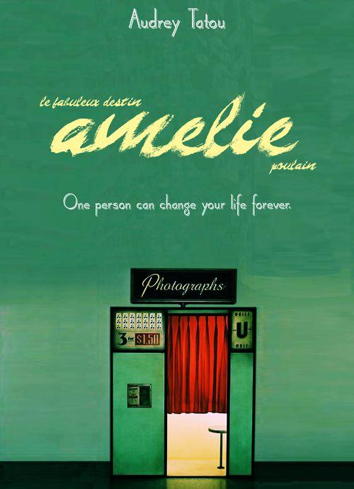 Amelie Poulain  Audrey Tautou