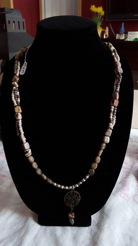 Maine Handmade Necklace by CCoastalCreations on Etsy