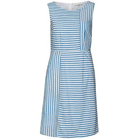 Buy Seasalt Peche Dress, Crevettes Cobalt Online at johnlewis.com