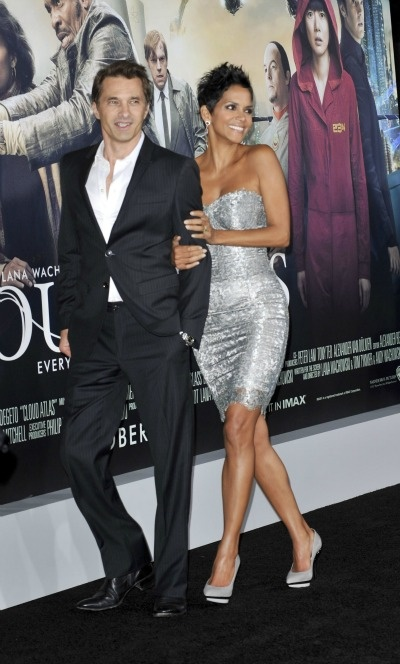 Halle Berry and now husband Olivier Martinez