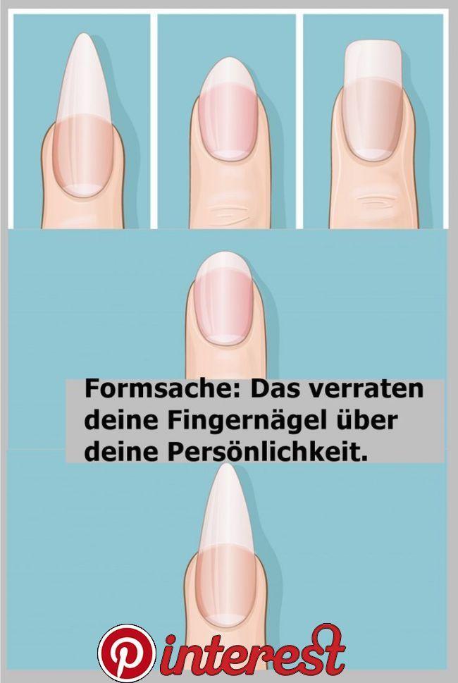 Formalität: Das verrät deine Fingernägel über deine Persönlichkeit – Fingernägel