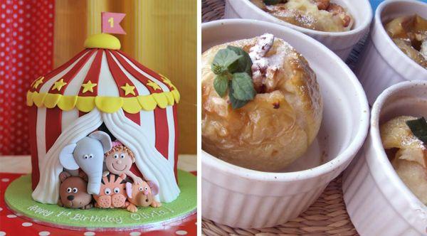 делаем торт на тему цирк
