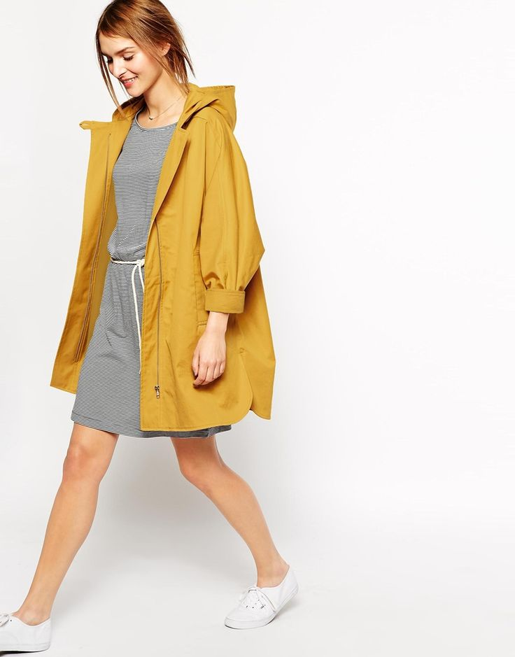 Image 4 of Sessun Summer Nana Hooded Parka in Ceylon Yellow