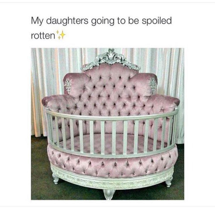 Found my future baby girls crib