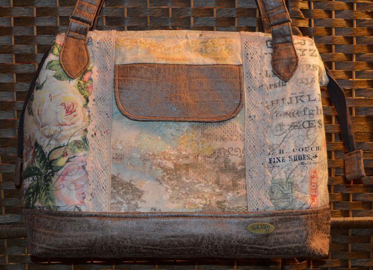 Frame bag - Tim Holtz fabrics