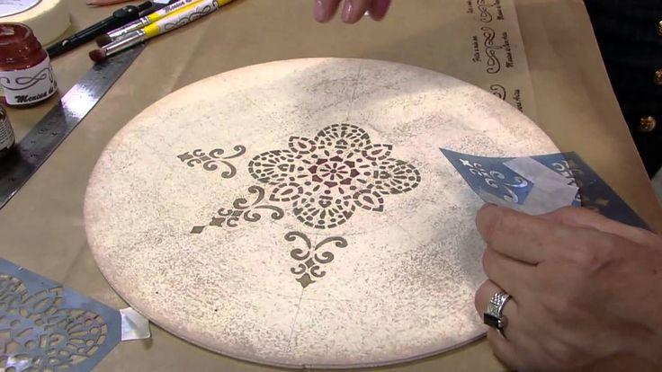 Mulher.com 31/03/16 - Decoração com patina em cera - Marilda Marquesim 1/2