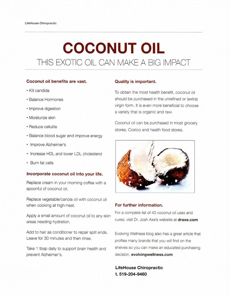 Our #NovemberFeature is one of the healthiest fats: Coconut Oil. We love coconut oil for.. well, everything! We created this information sheet for our patients so we can share the love! #lifehousechiropractic #chiropractic #coconutoil #londonontario