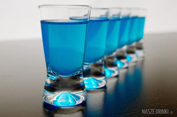 Niebieskie Kamikadze (Blue Kamikaze) – shot na każdą imprezę