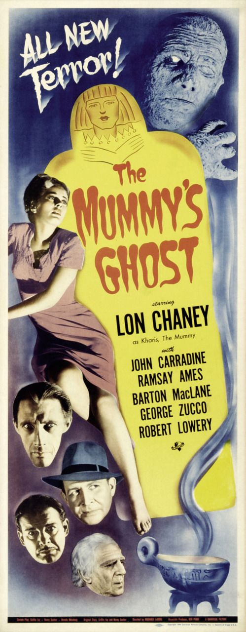 _The Mummy's Ghost_ insert (1944). Gotta have ALL of the Universal mummy inserts up here.