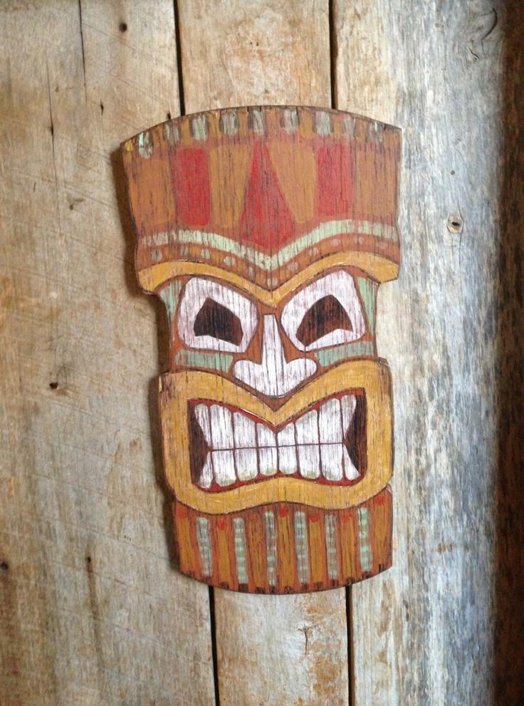 Best 25 Tiki Mask Ideas On Pinterest E Spirit Clay