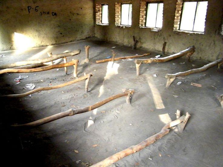 A school classroom in Rambek, South Sudan.