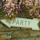 Vintage Party Sign